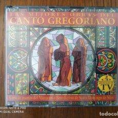 CDs de Música: CD LAS MEJORES OBRAS DEL CANTO GREGORIANO. Lote 275329033