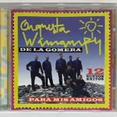 CDs de Música: ORQUESTA WAMAMPY DE LA GOMERA. PARA MIS AMIGOS. 12 NUEVOS ÉXITOS. MANZANA 1997.CD. Lote 275340293