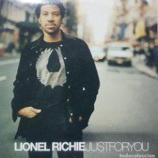 CDs de Música: LIONEL RICHIE - JUST FOR YOU - CD PROMOCIONAL - UNIVERSAL 2004. Lote 275549773