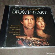 CD de Música: BRAVEHEART - ORIGINAL MOTION PICTURE SOUNDTRACK - JAMES HORNER. Lote 275614033