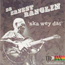 CDs de Música: DR ERNEST RANGLIN - SKA WEY DAT DOBLE CD TROJAN RECORDS -NUEVO PRECINTADO - REGGAE. Lote 275658788