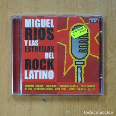 CDs de Musique: MIGUEL RIOS - MIGUEL RIOS Y LAS ESTRELLAS DEL ROCK LATINO - CD. Lote 275660973