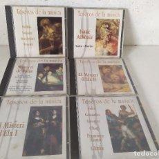 CD de Música: LOTE DE 6 CD´S DE MÚSICA, DE LA COLECCIÓN TESOROS DE LA MÚSICA, EN SUS CARÁTULAS ORIGINALES. Lote 275714213