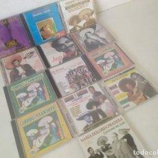 CDs de Musique: LOTE DE 13 CD´S DE MÚSICA, CORRIDOS, RANCHERAS, MARIACHIS Y SIMILAR, EN SUS CARÁTULAS ORIGINALES. Lote 275722338