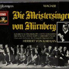 CD de Música: CAJA CD. DIE MEISTERSINGER VON NURNBERG. KARAJAN. WAGNER. Lote 275759058