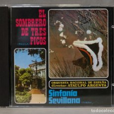 CDs de Música: CD. EL SOMBRERO DE TRES PICOS. FALLA. Lote 275770763