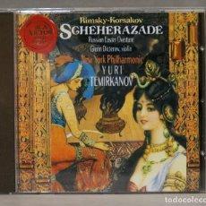 CD de Música: CD. SCHEHERAZADE. RIMSKY-KORSAKOV. TEMIRKANOV. Lote 275770913