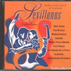 """CDs de Musique: SEVILLANAS - BANDA SONORA ORIGINAL DE LA PELICULA DE """"CARLOS SAURA"""" / CD ALBUM 1994 RF-10344. Lote 275780603"""