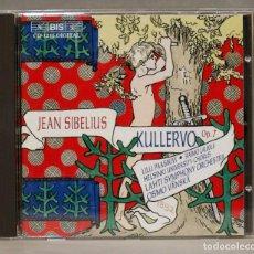 CDs de Música: CD. CD SIBELIUS. KULLERVO OP 7. Lote 275784118