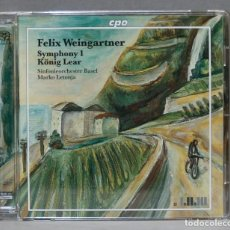 CD de Música: CD. WEINGARTNER. SYMPHONY 1. LEAR. Lote 275785318