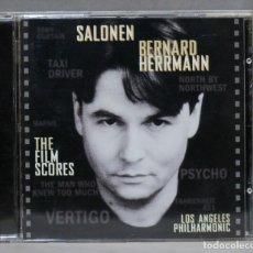 CDs de Música: CD. THE FILM SCORES. BERNARD HERRMANN. SALONEN. Lote 275787473