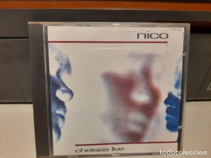 CD NICO ( THE VELVET UNDERGROUND, TEMAS DE NICO, LOU REED Y THE DOORS ) : CHELSEA LIVE (Música - CD's Pop)