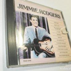 CDs de Música: CD JIMMIE RODGERS. MCA RECORDS 1987 USA 12 TEMAS (BUEN ESTADO). Lote 275789428