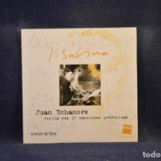 CDs de Música: J. SABINA - JUAN ECHANOVE RECITA SUS 12 CANCIONES PREFERIDAS - CD. Lote 275860688