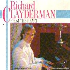 CDs de Musique: RICHARD CLAYDERMAN - FROM THE HEART - CD ALBUM - 13 TRACKS - PICKWICK MUSIC - AÑO 1984. Lote 275883468