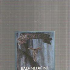 CDs de Música: BON JOVI BAD MEDICINE. Lote 275930443