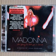 CDs de Música: MADONNA I'M GOING TO TELL YOU A SECRET LIVE CD + DVD. Lote 275958348