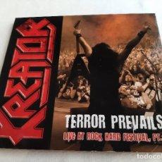 CD de Música: KREATOR -TERROR PREVAILS LIVE AT ROCK HARD FESTIVAL- (2010) CD. Lote 275991463
