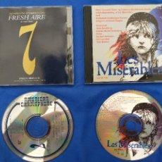 CDs de Música: FRESCH AIRE.Y LOS MISERABLES.2 CDS. Lote 276017028