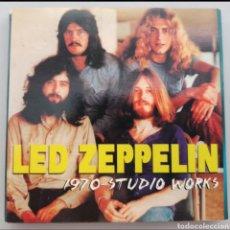 CDs de Música: LED ZEPPELIN - 1970 STUDIO WORKS - 4CD. Lote 276018898