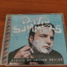 CDs de Música: CD DAVID SUMMERS. BASADO EN HECHOS REALES. HOMBRES G. Lote 276053003