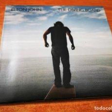 CDs de Música: ELTON JOHN THE DIVING BOARD CD ALBUM DIGIPACK 2013 EU EDICION DELUXE TEMAS EXTRA CONTIENE 19 TEMAS. Lote 276081383