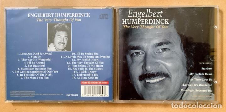 CD LO MEJOR DE ENGELBERT HUMPERDINCK (Música - CD's Melódica )