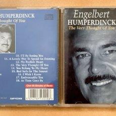 CDs de Música: CD LO MEJOR DE ENGELBERT HUMPERDINCK. Lote 276135878
