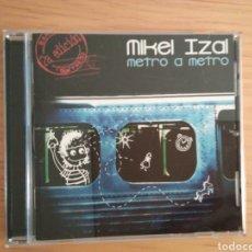 CD de Música: MIKEL IZAL 'METRO A METRO' (2.A EDICIÓN, DEDICADO POR IZAL). Lote 276212473