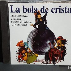 CDs de Música: LA BOLA DE CRISTAL CD ALASKA - DINARAMA LOQUILLO ELECTRODUENDES (1996) PEPETO. Lote 276215023