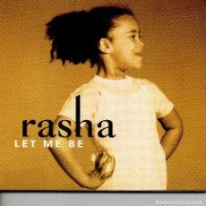 CDs de Música: RASHA – LET ME BE (CD DIJIPACK). Lote 252780755