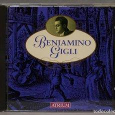 CDs de Música: CD. BENIAMINO GIGLI. ATRIUM. Lote 276216973