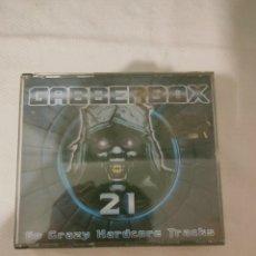 CDs de Música: GABBERBOX 21 - 60 CRAZY HARDCORE TRACKS 3 CD. Lote 276221378