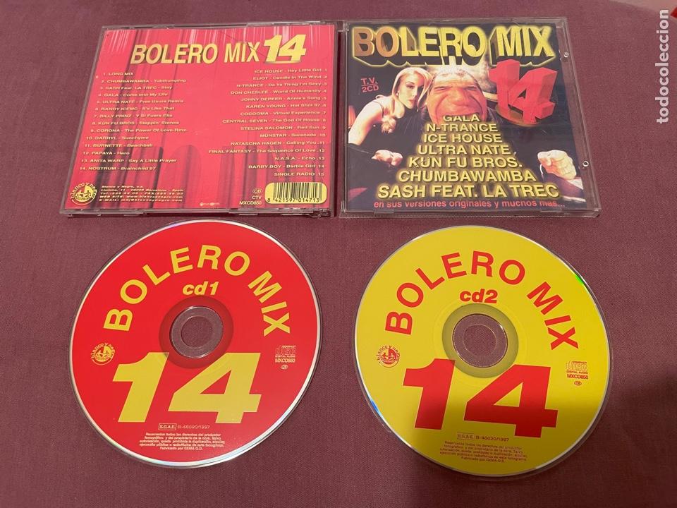 BOLERO MIX 14 - 2CD - BLANCO Y NEGRO MUSIC (Música - CD's Disco y Dance)