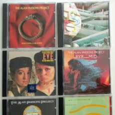 CDs de Musique: CD LOTE ALAN PARSONS PROJECT / 1° EDICIONES FINALES 70 E INICIOS 80. Lote 276282903