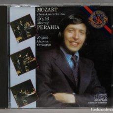 CDs de Música: CD. MOZART. PIANO CONCERTOS 15 16. PERAHIA. Lote 276286213