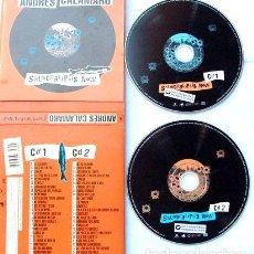 CDs de Música: ANDRES CALAMARO SALMONALIPSIS NOW CD DOBLE 2011 IMPEC. Lote 276338933