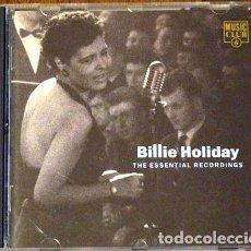 CDs de Música: BILLIE-HOLIDAY-THE-ESSENTIAL-RECORDINGS-CD-IMPORTADO-. Lote 276340383