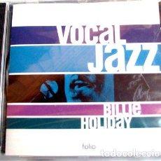 CDs de Música: BILLIE HOLIDAY VOCAL JAZZ 18 EXITOS CD NUEVO Y SELLADO. Lote 276341178