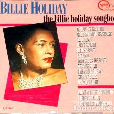 CDs de Música: BILLIE-HOLIDAY-SONGBOOK-CD-IMPORTADO-. Lote 276341213