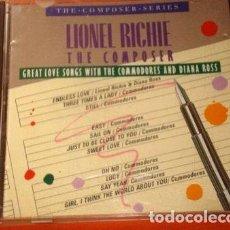 CDs de Música: -LIONEL RICHIE THE COMPOSER IMPORTADO IMPECABLE CD UNICO. Lote 276348708