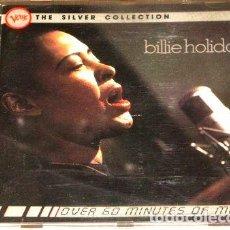 CDs de Música: -BILLIE HOLIDAY SILVER COLLECTION CD IMPORTADO. Lote 276349923