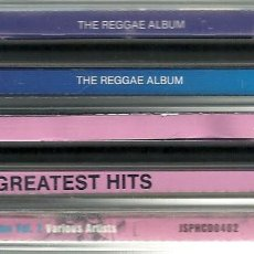 CDs de Música: LOTE 5 CDS RECOPILATORIOS DE MÚSICA REGGAE. Lote 276362958