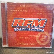 CDs de Música: RFM SÓ GRANDES MÚSICAS. CD PORTUGUÉS. VARIOS ARTISTAS. 2003. (ENVÍO 2,50€). Lote 275798118