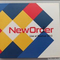 CDs de Música: NEW ORDER - LIVE AT BESTIVAL 2012 - CD. Lote 276463708