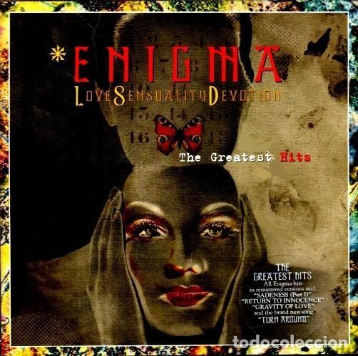 C318 - ENIGMA. THE GREATEST HITS. LOVE SENSUALITY DEVOTION. RECOPILATORIO. CD. (Música - CD's Techno)