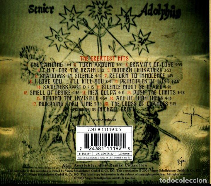 CDs de Música: C318 - ENIGMA. THE GREATEST HITS. LOVE SENSUALITY DEVOTION. RECOPILATORIO. CD. - Foto 2 - 276469613
