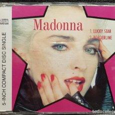 CDs de Musique: MADONNA - LUCKY STAR / BORDERLINE - CD SINGLE - ALEMANIA - EXCELENTE - NO USO CORREOS. Lote 276529043