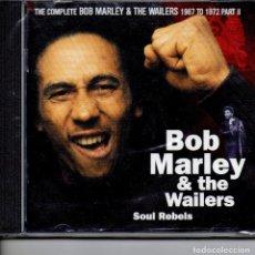 CDs de Música: BOB MARLEY & THE WAILERS SOUL REBELS. Lote 252949375