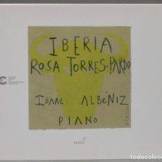 CDs de Música: 2 CD. IBERIA. ISAAC ALBENIZ. ROSA TORRES-PARDO. Lote 276577278